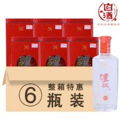 泸州老窖 浓香型白酒 泸极醇酿 52度500ml 整箱6瓶