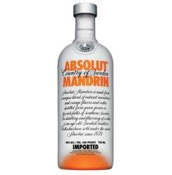 洋酒包邮ABSOLUT MANDRIN瑞典绝对伏特加柑橘味酒