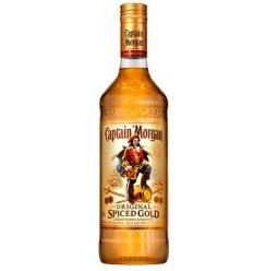 摩根船长(Captain Morgan)洋酒 摩根金朗姆酒700ml 单瓶