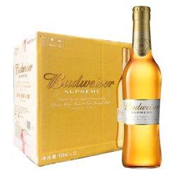 《【京东自营】百威(Budweiser)金尊啤酒 500ml*12瓶69元(双重优惠)》