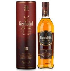 格兰菲迪15年单一纯麦威士忌