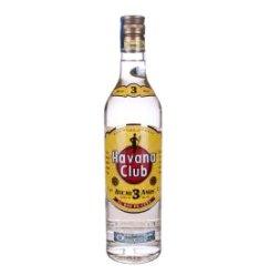 哈瓦那俱乐部朗姆酒3年陈酿(瓶装 700ml)
