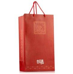 双支酒盒手提袋(红礼袋)