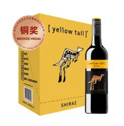 《【京东自营】黄尾袋鼠西拉干红*6瓶  176元(双重优惠)》