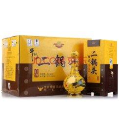 牛栏山二锅头 白酒 北京二锅头 经典黄龙 清香型 500ml 52度整箱6瓶装