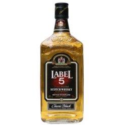 英国原瓶进口 五世醇黑苏格兰威士忌700ml