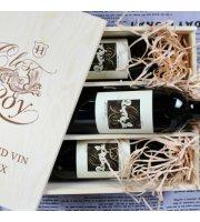 【高分列级品质】龍藤美酒 罗伊小王国 Clos du Roy Fronsac 法国原装进口红葡萄酒 2015年/3支 750ML/瓶