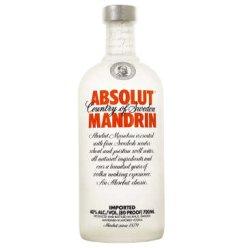 绝对伏特加柑橘味 ABSOLUT MANDRIN 700ml