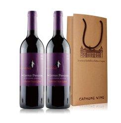 澳大利亚 原瓶进口 小企鹅赤霞珠葡萄酒 750ml*双礼袋