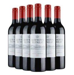 Penfolds澳洲红酒 原瓶进口奔富洛神山庄西拉干红葡萄酒750ml×6瓶