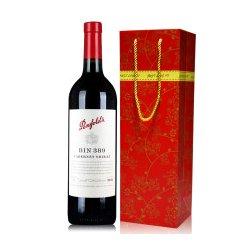 奔富红酒 BIN389干红葡萄酒750ml 单支