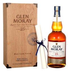 格兰莫雷(Glen Moray)洋酒 窖藏 25年 斯佩塞 单一麦芽 威士忌 700ml