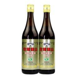 古越龙山花雕三年陈酿3年 600ml绍兴黄酒(新包装) 双瓶装