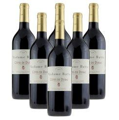 酒庄直供 法国原瓶原装进口巴图太太波尔多AOC级干红葡萄酒750ml
