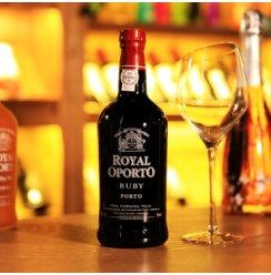【自营配送】葡萄牙进口porto红宝石波特酒 皇家Ruby晚安酒加强型甜红葡萄酒