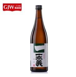 日本清酒原装一本义牌金印清酒720ml