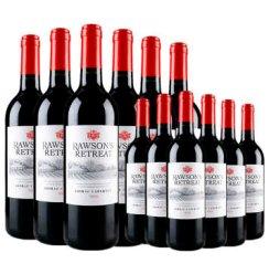 【澳大利亚进口】奔富洛神山庄西拉赤霞珠(色拉子加本纳)干红葡萄酒 全球购进口红酒 十二支 750ml*12