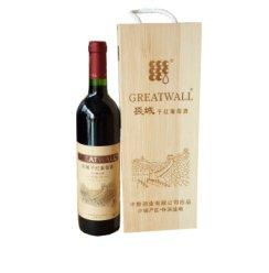 长城宝石解百纳特酿5年干红葡萄酒750ml.
