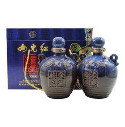 女儿红 绍兴黄酒 精品窖藏 半干型 1.5L*2坛 礼盒装