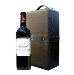 法国原瓶进口 四级酒庄 龙船庄园干红葡萄酒高级单支礼盒(750ml)