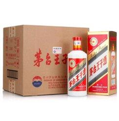 贵州茅台酒 茅台王子酒53度500ml*6瓶整箱装酱香型白酒