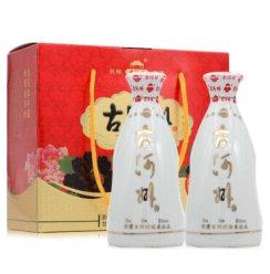 古河州 牡丹小酒斗  50度浓香型白酒259ml*2支装