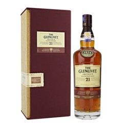 高华仕 格兰威特单一麦芽苏格兰威士忌21年套装法国橡木桶 700ml