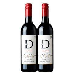 澳大利亚原瓶原装进口红酒 袋王Diwant高岸西拉子干红葡萄酒750ml 红酒礼盒 双支 750ml*2