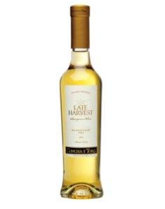 智利干露晚收苏维翁甜白葡萄酒