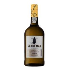 葡萄牙进口波特酒 山地文(SANDEMAN) 波特白(White Porto) 加强型葡萄酒750ml