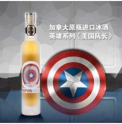 加拿大冰酒VQA进口 列吉塞黄金液体英雄系列冰红冰白葡萄酒 美国队长
