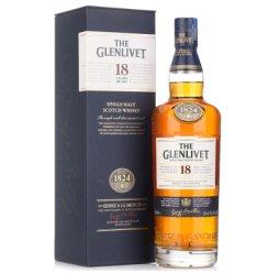 《【京东自营】格兰威特 18年 陈酿 单一麦芽苏格兰威士忌 700ml 813元(每299-30)》