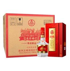 五粮液股份出品 东方娇子 绵柔醇品 52度 500ml*6瓶 整箱装 浓香型 白酒