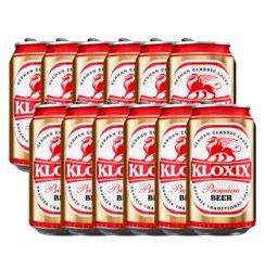 科罗斯德式经典拉格啤酒330ml(金罐)*12