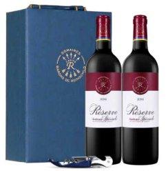 【ASC 超市红酒】法国原瓶进口红酒DBR拉菲 珍藏波尔多AOC干红葡萄酒礼盒装750ml