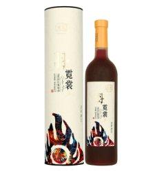 国产红酒 楼兰羽霓裳9度甜红葡萄酒 750ml