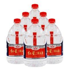 北京红星二锅头白酒 北京特产 红星桶装二锅头白酒 60度2L*6桶