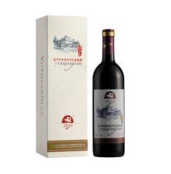 中国越千年优选赤霞珠干红葡萄酒750ml 国产红
