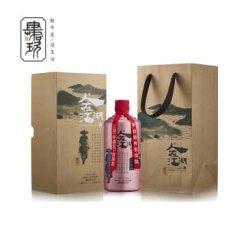 【肆拾玖坊】茅台镇人在江湖53°酱香型品鉴白酒 玫瑰金单瓶装500ml
