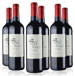 赠酒刀 送2酒杯 法国进口红酒 泰玛丽斯酒庄精选窖藏AOC维乐丝庄园干红葡萄酒整箱6瓶