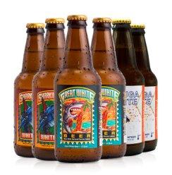 迷失美国进口精酿迷失海岸IPA世涛黑啤小麦白啤酒 6瓶迷失小麦白啤组合机械鱼+大白鲨+海鲸