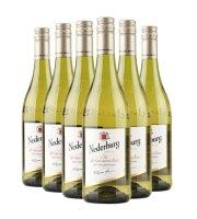 南非进口红酒  尼德堡系列(原酒师特酿) 750ml/支  红酒整箱6支装 莎当妮白葡萄酒