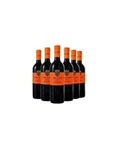 意大利比奇尼橙色托斯卡纳干红葡萄酒