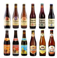 [鑫擎酒类专营店]12瓶装进口修道院精酿啤酒比利时罗斯福10号智美金帽白啤布什琥珀