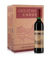 长城Greatwall 沙城长城特酿五年宝石解百纳干红葡萄酒 整箱6瓶装 750ml*6瓶