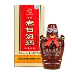名酒 山西特产 杏花村汾酒 特制老白汾酒 清香代表 45度475ml