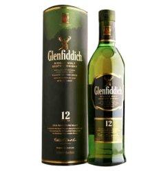 1919酒类直供 Glenfiddich格兰菲迪 12年 单一纯麦 威士忌 700ml