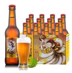 《【京东】青岛麦考熊精酿小麦白啤330ml*12瓶(九尾) 46.63元(双重优惠)》