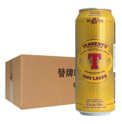 《【京东自营】替牌(Tennent)啤酒 500ml*24听 75.2元(双重优惠)》