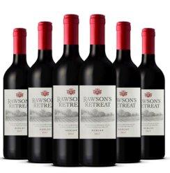 澳洲进口红酒 奔富 洛神山庄梅洛干红葡萄酒 整箱套装 (梅洛和西拉子随机发货)
